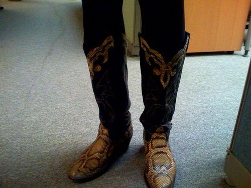 krissy has kick ass boots